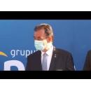 Conferință de presă susținută de premierul Ludovic Orban la Cluj-Napoca